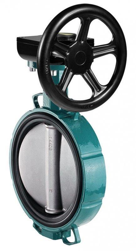 GEMÜ 487 - Затвор поворотный дисковый с ручным управлением