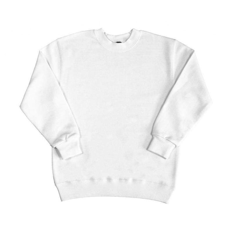 Sweat shirt manches set-in enfant - Sans capuche