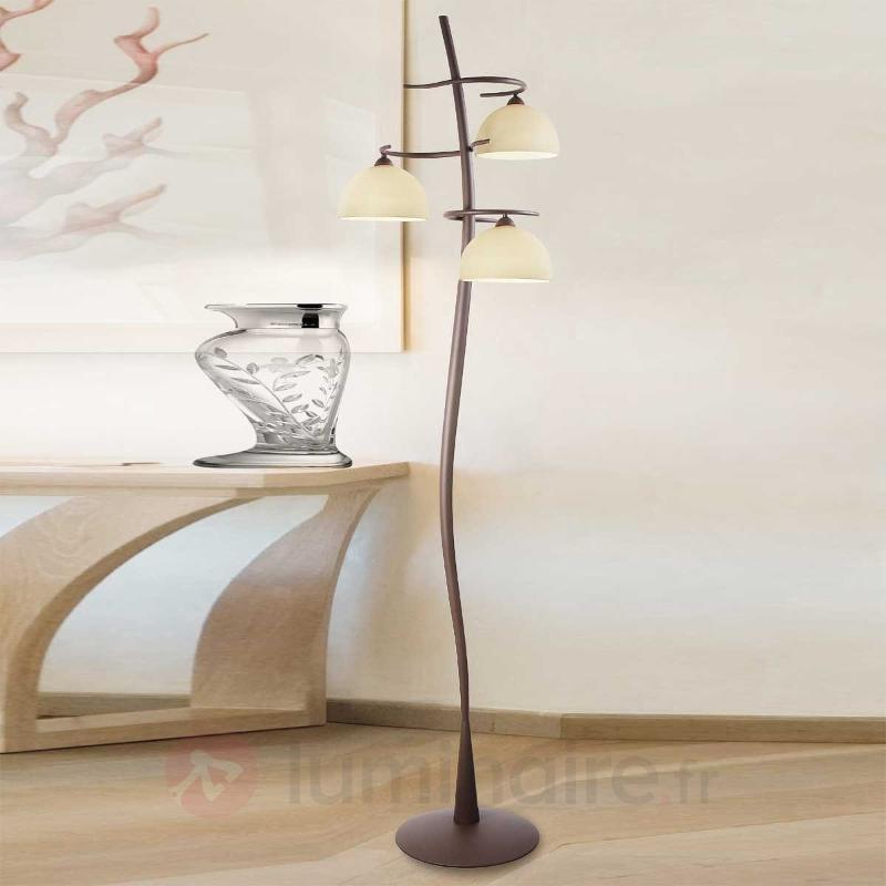 Lampadaire Christian à 3 lampes - Lampadaires rustiques