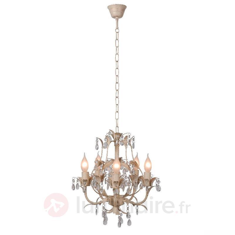 Lustre Drome à 5 lampes - Lustres classiques,antiques