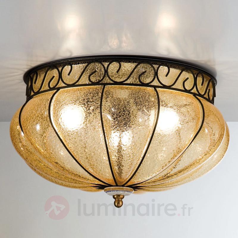 Margherita - plafonnier à la lumière chaleureuse - Plafonniers classiques, antiques