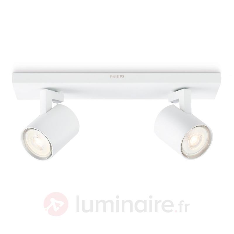 Plafonnier LED à deux lampes Runner - Spots et projecteurs LED