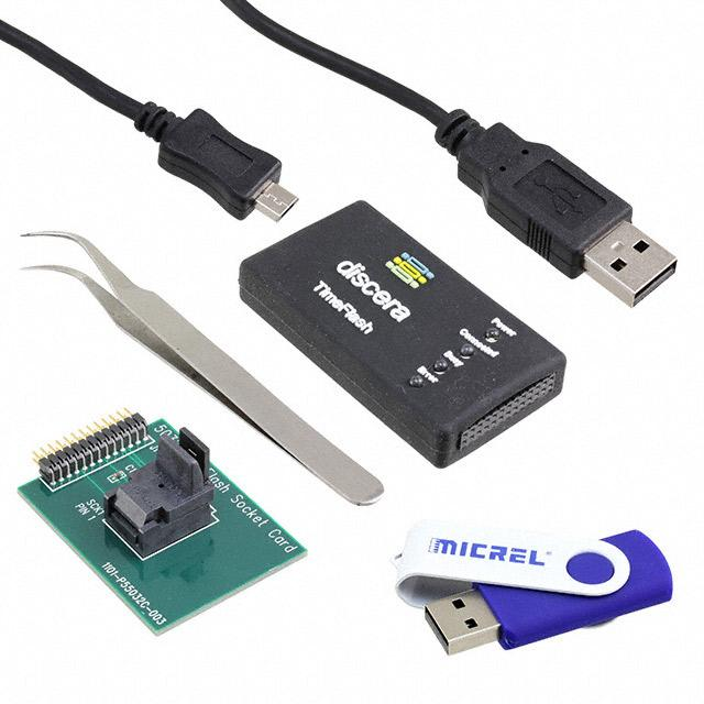 EVAL BOARD FOR OSCILLATOR - Microchip Technology DSC-PROG-TIMEFLASH-5032