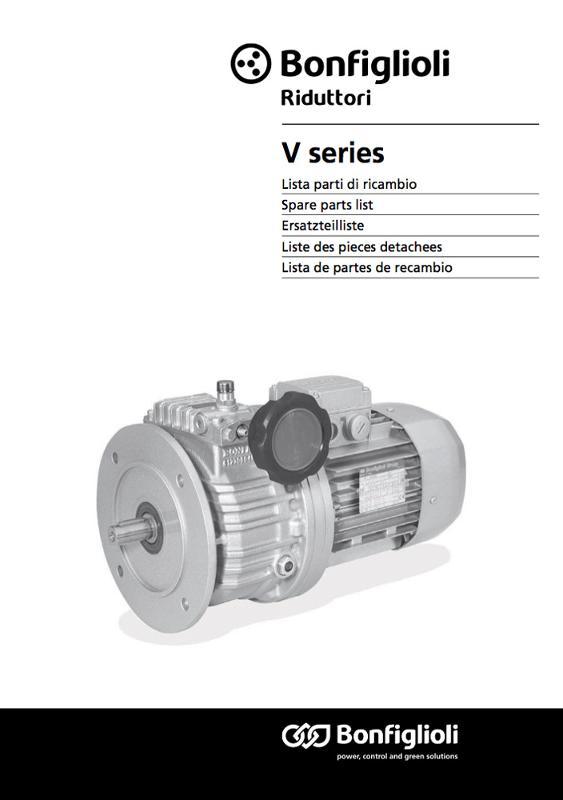 Manuali Ricambi - Soluzioni per trasmissioni a velocità variabile
