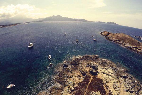 La traversée de l'Atlantique par drone