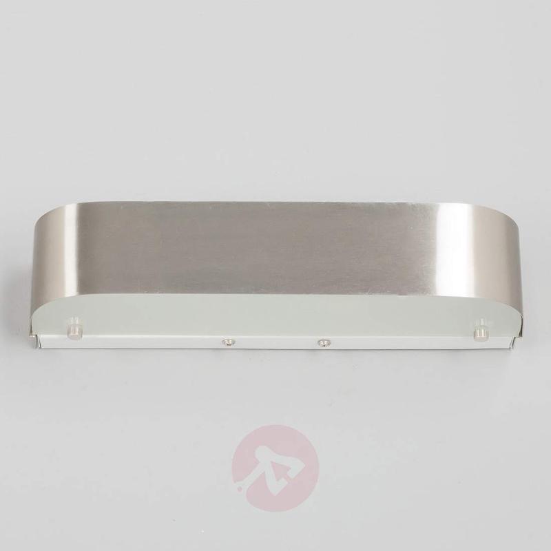 Elegant matt nickel LED wall light Nika - Wall Lights