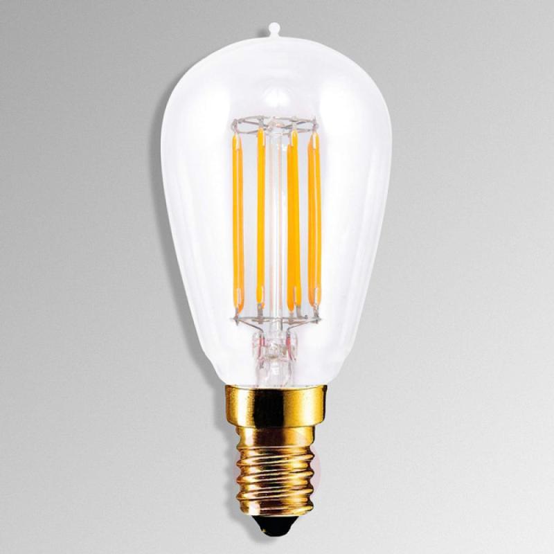 E14 4.7 W 822 LED lamp in carbon filament design - light-bulbs