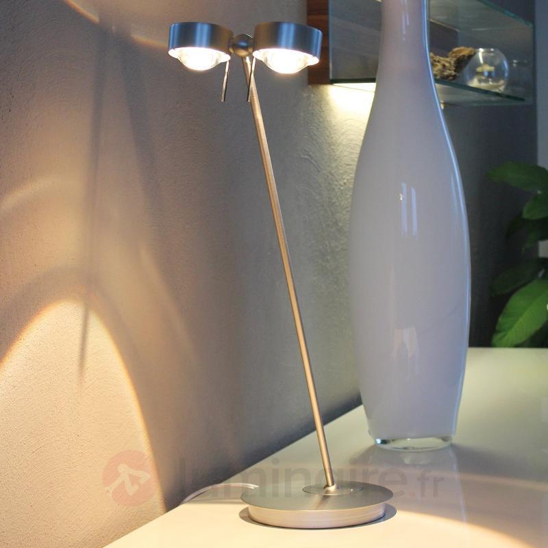 Lampe à poser à 2 lampes PUK TABLE - Lampes à poser designs