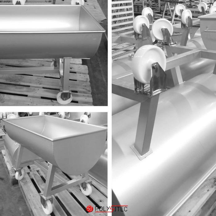 CALDERERÍA de INOXIDABLE -  Fabricación a medida, en Inox 304 o Inox 316, con certificaciones.
