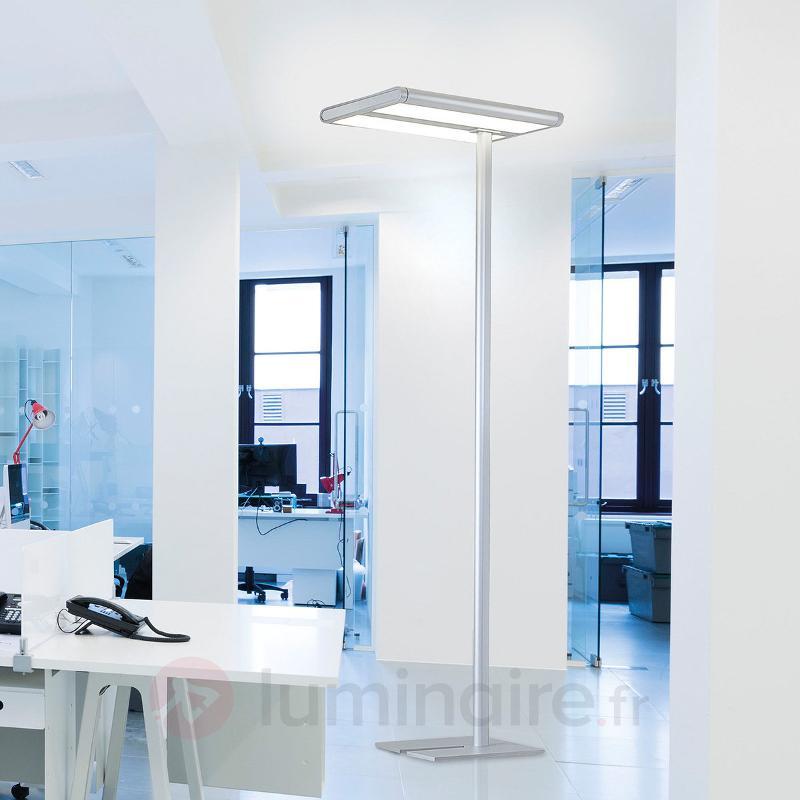Lampadaire de bureau haut de gamme Quirin avec LED - Lampadaires directs et indirects