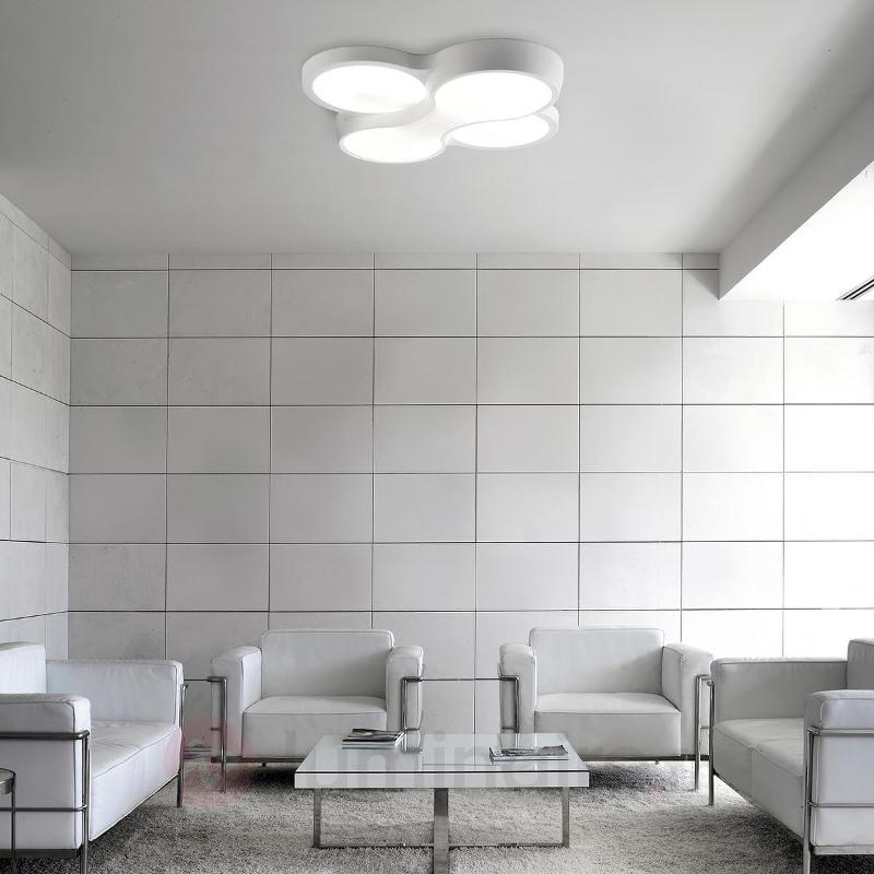 Plafonnier extraordinaire Ocho, 4 lampes - Plafonniers design