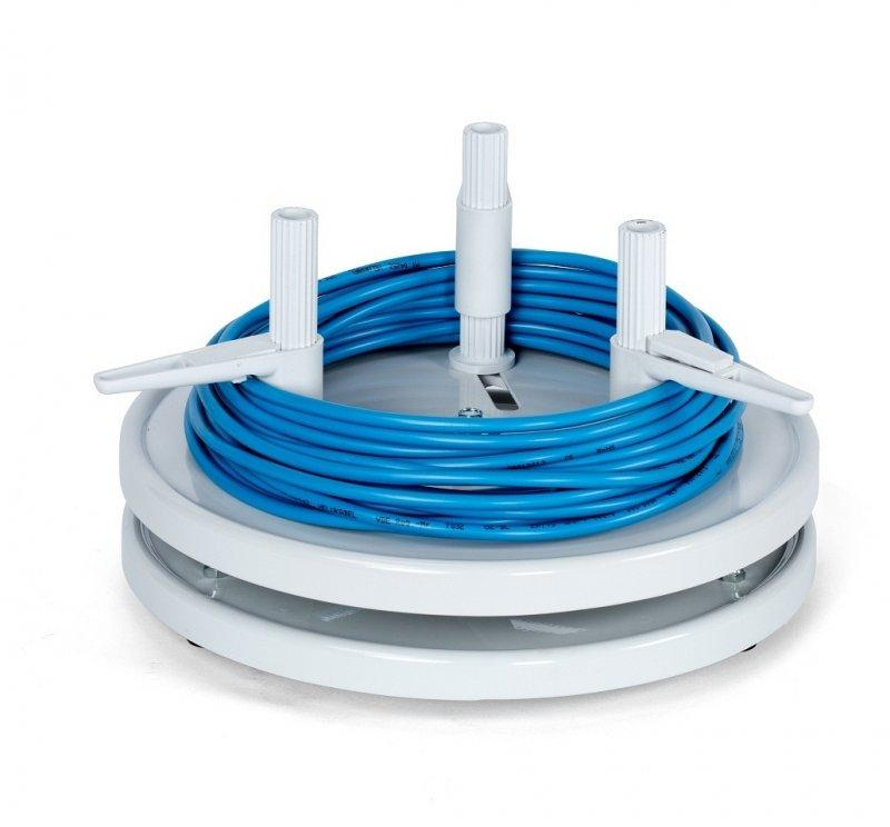 RINGFIX 450 ring unwinder, cable unwinder, manual - Manual unwinder for rings max Ø 440 mm