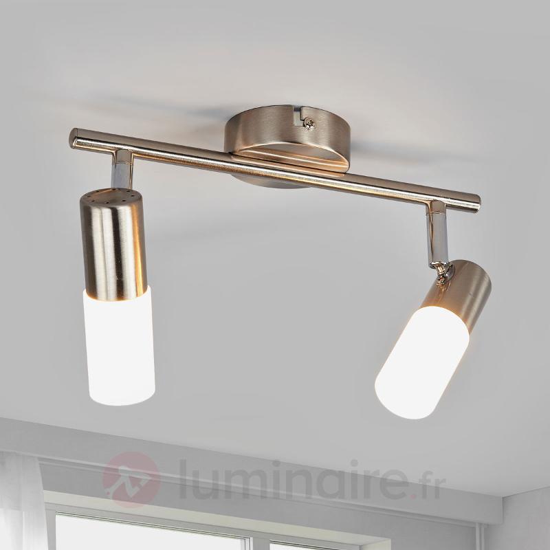 Plafonnier LED Cristiano à 2 lampes - Spots et projecteurs LED