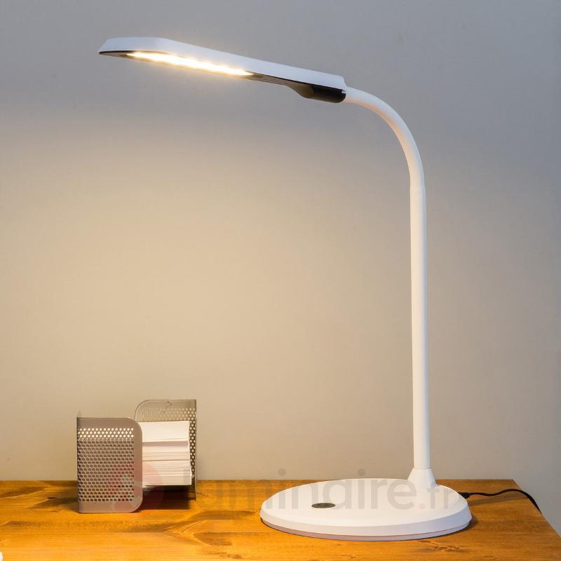 Dila - lampe de bureau à l'aspect moderne - Lampes de bureau LED
