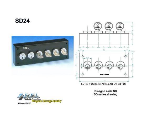 Distributori di Chiavi - Distributore chiave SD24