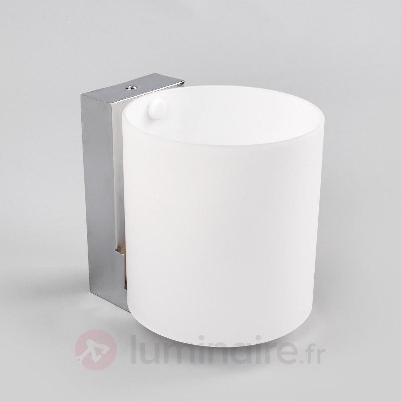 Applique LED Vesa avec abat-jour rond - Salle de bains et miroirs