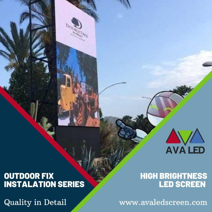 شاشة LED لإعلانات الشوارع - أدى الطوطم وعرض الملصق