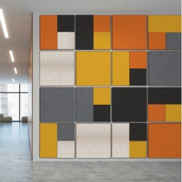 Acoustic Panels - Fabric Covered Acoustic Panels