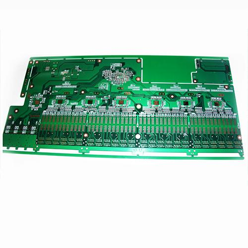 Green oil circuit board
