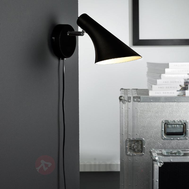 Applique moderne et flexible LIAM noire - Toutes les appliques