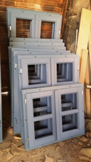 Wood windowя and shutters - Pine & Spruce