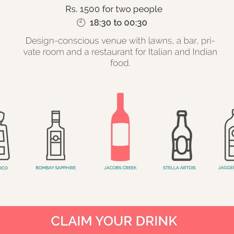 BEHINDBARS - Behind Bars Gives You a Free Drink Everyday