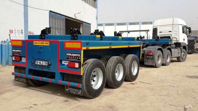 Dolly Semi Trailers - Dolly Trailers | Bridge Beam Transporter