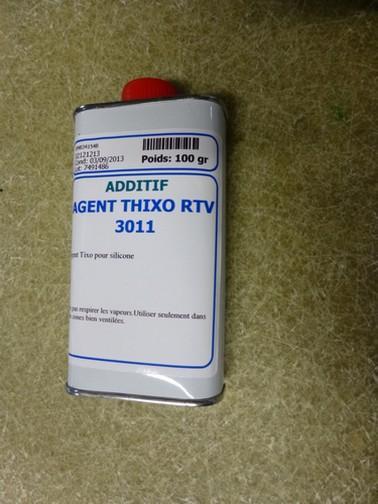 Produits pour le moulage Adjuvants: Thixo - Fluid - Pigments - AGENT THIXOTROPE SILASTIC 100G