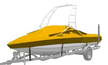 Boat tarpaulin -