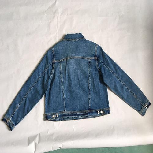 Женское джинсовое пальто -