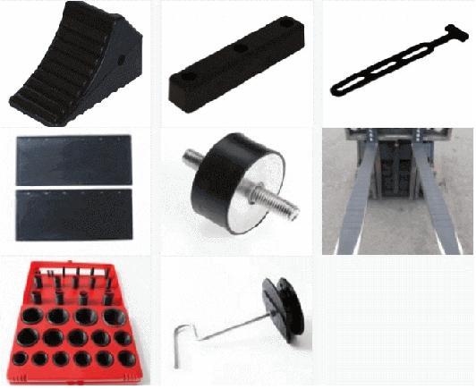 Støbt emner i gummi - Molded Rubber / Cast rubber
