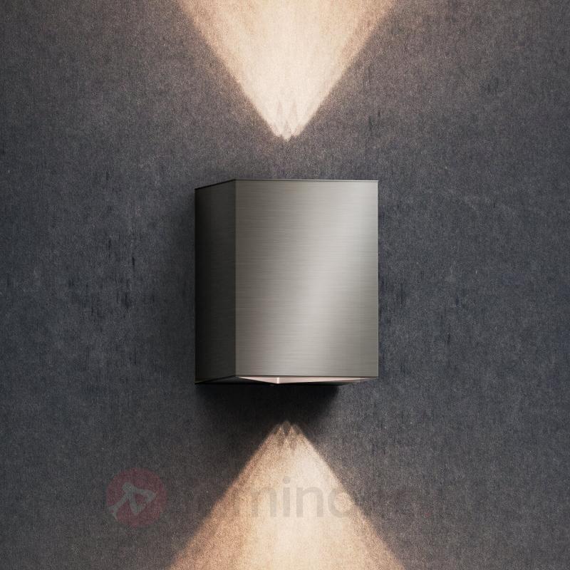 Applique d'extérieur LED en inox Cistus - Appliques d'extérieur inox