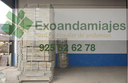 Andamio europeo - 180m2 lote de andamio europeo homologado Tendo