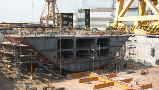 SHIP MANUFACTURING INDUSTRY - Site Installation & Maintenance