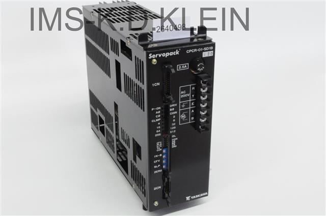 SERVO PACK CPCR-01-SD1B-Y20 12 A1,AP1/3,AP150,MR20C - S-2640498