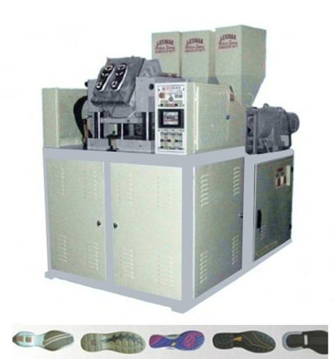 1 STATION 3 COLORS  SHOE SOLES INJECTION MACHINE