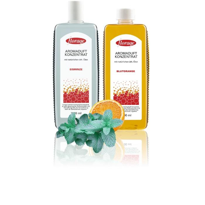 Aroma Fragrances for Steam baths, aroma caves, thermariums - Manufacturer for premium sauna fragrances (Florage)