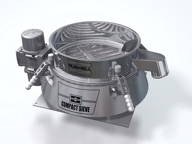 Vibrovaglio industriale Russell Compact Sieve®