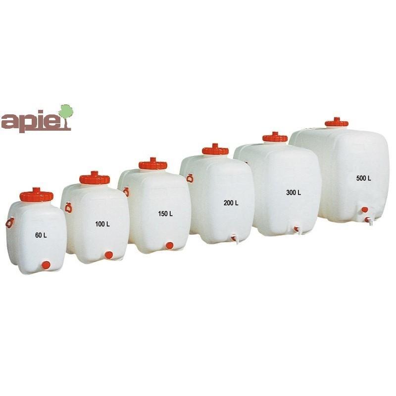 Réservoir 100 L en PEHD qualité alimentaire - Référence : TPE/1420/100L