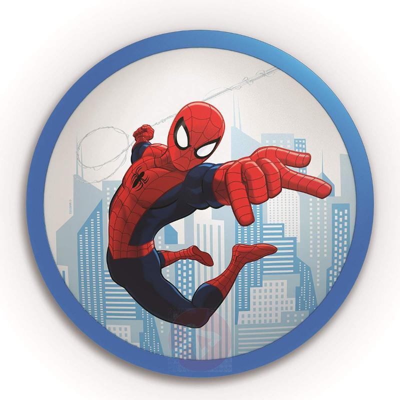 Spiderman LED wall light for children - Ceiling Lights