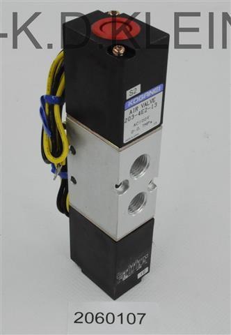 SOLENOID VALVE 203-4E2-13 AC100V - S-2060107