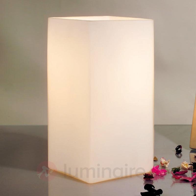 Lampe à poser carrée VILMA - Lampes de chevet