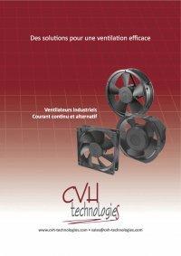 Ventilateurs DC - Ventilateur 120x120x38 mm Tacho