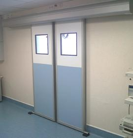 Porte coulissante étanche SP450 - Portes étanches et portes anti X