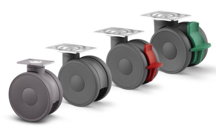 Roulette polyamide pour l'industrie - Gamme Linea industrielle