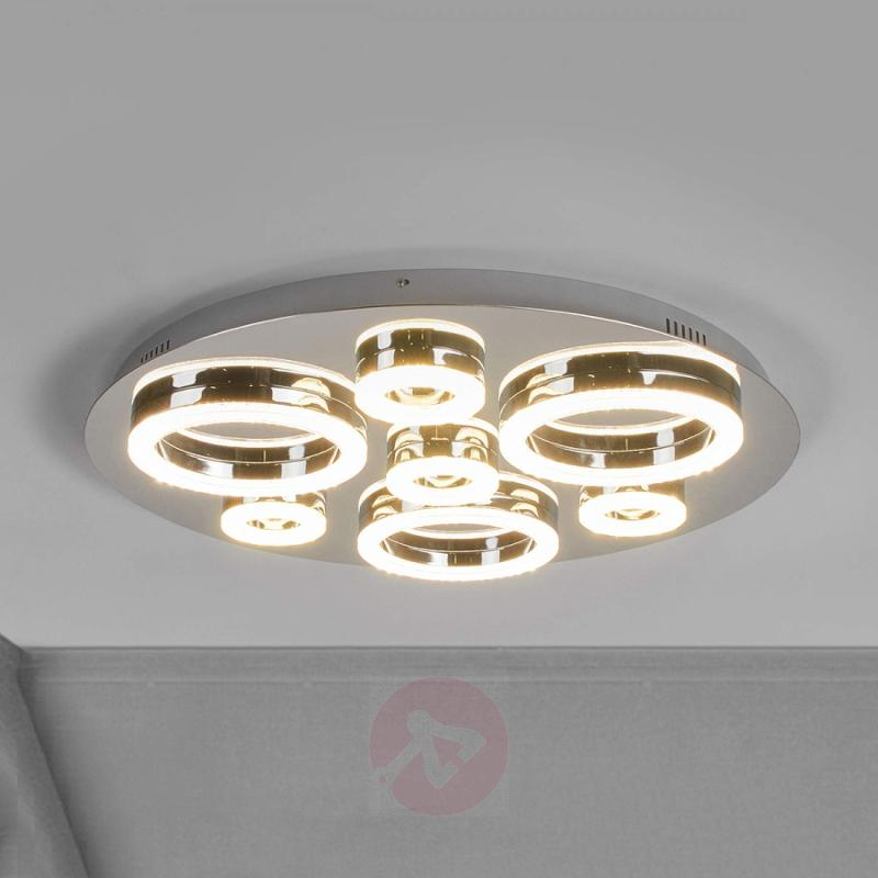 Dimmable LED ceiling lamp Matea - design-hotel-lighting