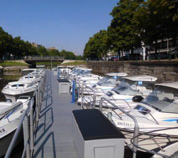 Rally by boat on the Lys river - Services