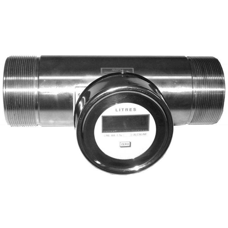 Compteur Volumetrique & Debimetre À Turbine Inox - COMPTE LITRE