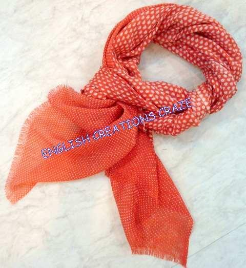 Silk wool Plain Color scarves - Silk wool Plain Color scarves