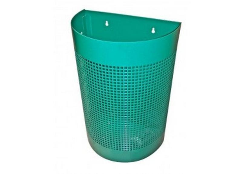 Perforated waste bin - null